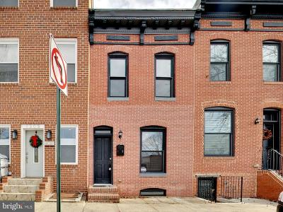 Baltimore City Townhouse For Sale: 1307 S Clinton Street