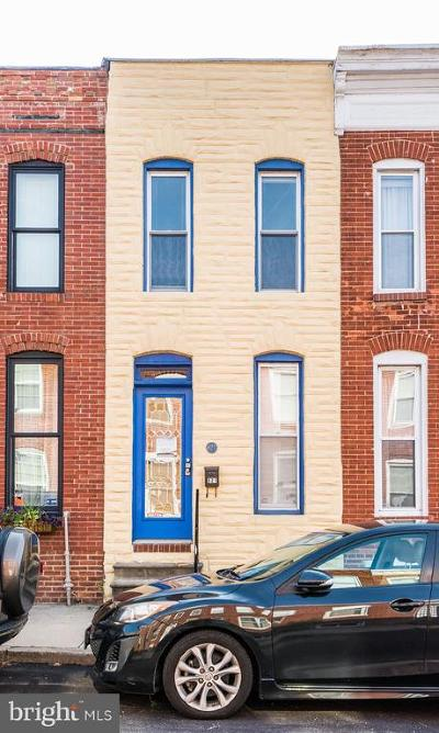 Canton Townhouse For Sale: 921 S Curley Street