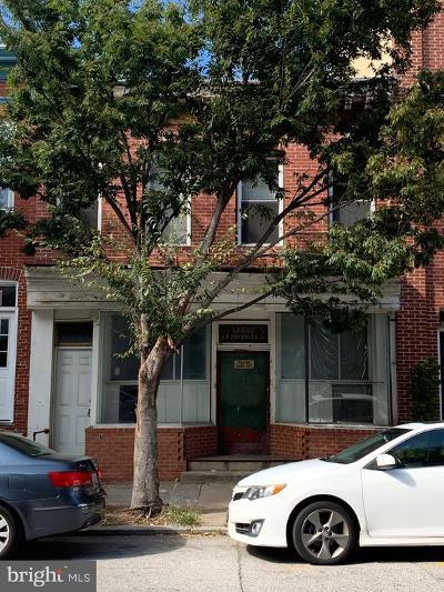 Baltimore City Rental For Rent: 880 Washington Boulevard