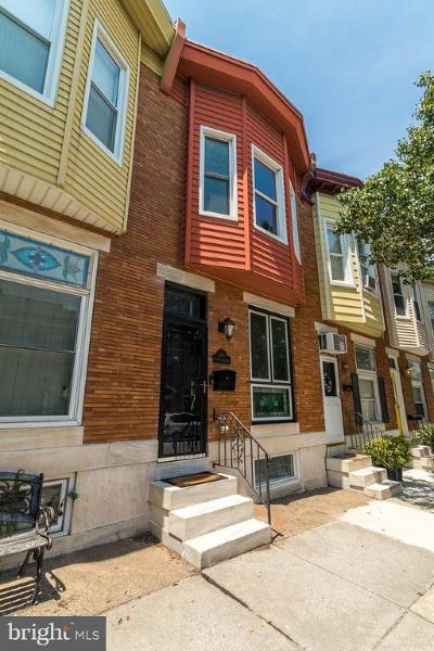 Baltimore City Townhouse For Sale: 614 S Ellwood Avenue