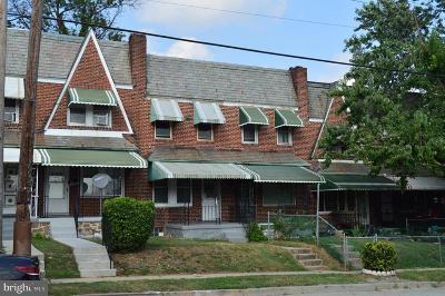 Baltimore Townhouse For Sale: 3338 W Caton Avenue