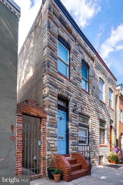 Fells Point Townhouse For Sale: 1724 Lancaster Street