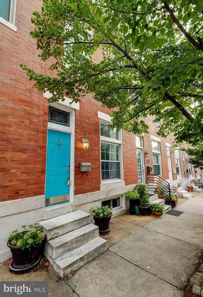 Baltimore Townhouse For Sale: 3812 Foster Avenue