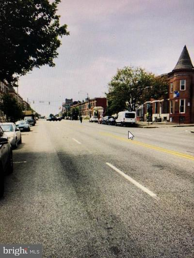 Baltimore Townhouse For Sale: 1813 W North Avenue
