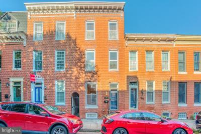 Baltimore Townhouse For Sale: 1242 William Street