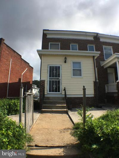 Baltimore City Townhouse For Sale: 5237 Linden Heights Avenue