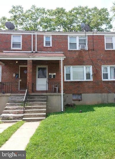 Baltimore Townhouse For Sale: 3909 Eierman Avenue