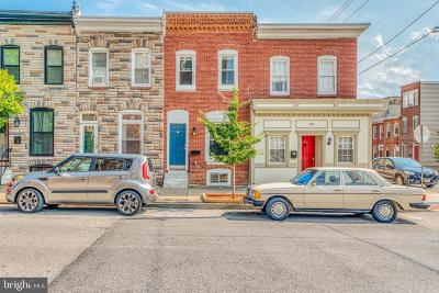 Baltimore City Townhouse For Sale: 3403 Hudson Street