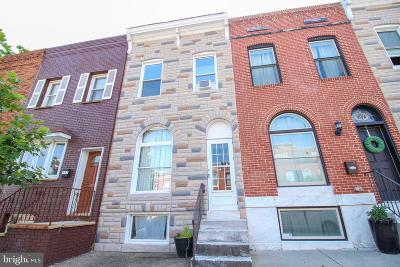 Baltimore Townhouse For Sale: 105 S East Avenue