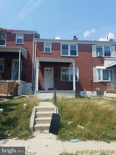 Baltimore Townhouse For Sale: 1506 Kenhill Avenue