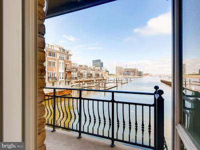 Baltimore City Rental For Rent: 1031 Pier Pointe Landing