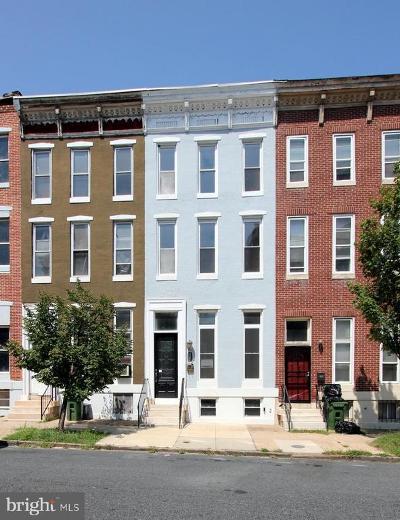 Baltimore Townhouse For Sale: 432 E Lafayette Avenue