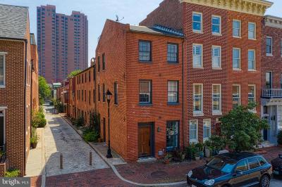 Baltimore Townhouse For Sale: 517 S Sharp Street
