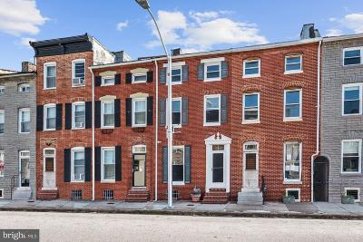 Baltimore Townhouse For Sale: 309 S Exeter Street
