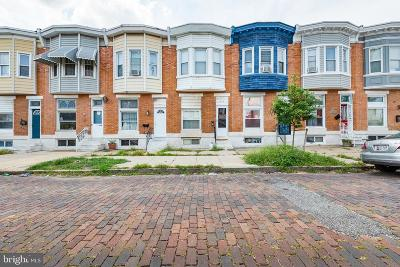 Baltimore City Townhouse For Sale: 514 S Lehigh Street