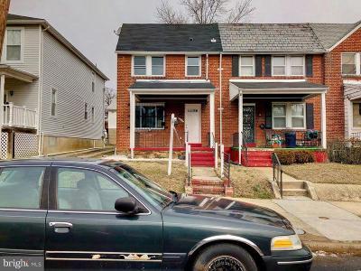 Baltimore Townhouse For Auction: 3842 Boarman Avenue