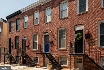 Baltimore City Townhouse For Sale: 18 N Rose Street