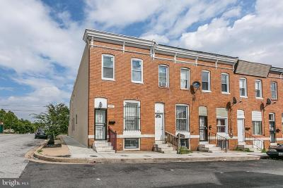 Baltimore Townhouse For Sale: 453 N Curley Street
