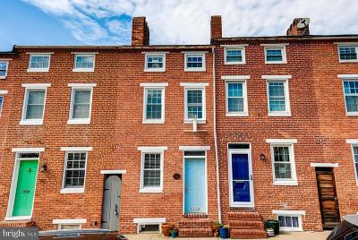 Baltimore City Townhouse For Sale: 112 E Hamburg Street