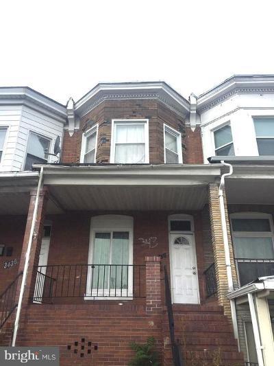 Belair - Edison Townhouse For Sale: 3438 Belair Road