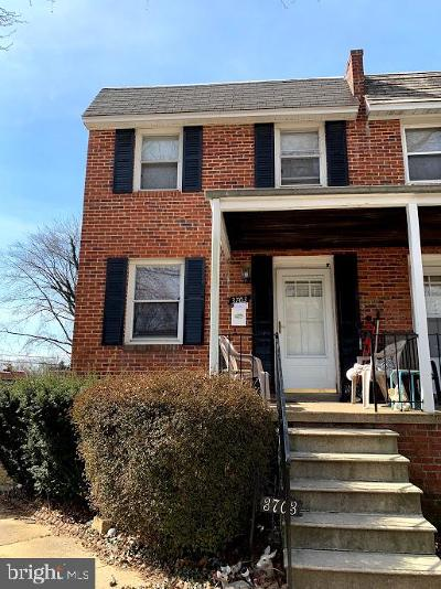 Baltimore Single Family Home For Sale: 3703 Bayonne Avenue