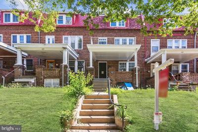 Baltimore City Townhouse For Sale: 223 E 33rd Street