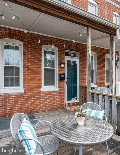 Federal Hill Townhouse For Sale: 1413 Race Street