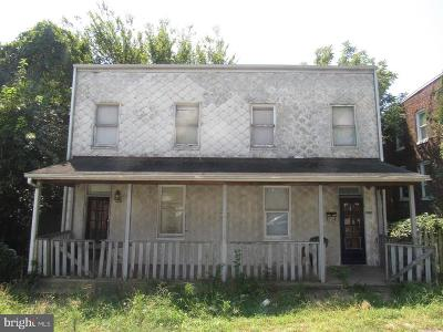 Baltimore City Single Family Home Active Under Contract: 1527 Locust Street