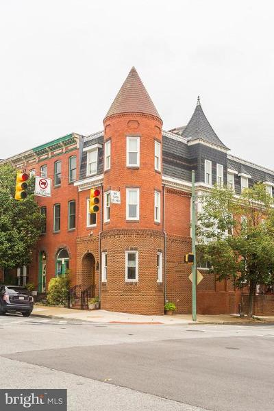 Baltimore Townhouse For Sale: 2 N. Patterson Park Ave