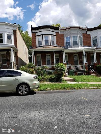Baltimore City Townhouse For Sale: 421 S Augusta Avenue