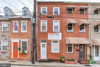 Fells Point Townhouse For Sale: 527 S Chapel Street