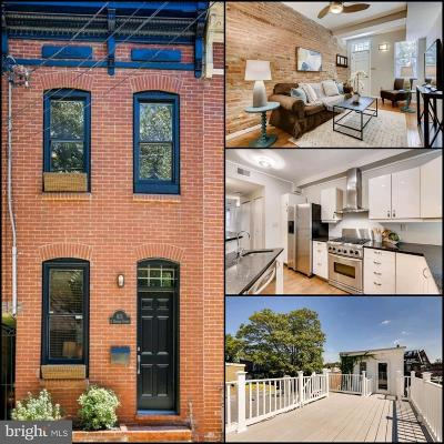 Fells Point Townhouse For Sale: 611 S Durham Street