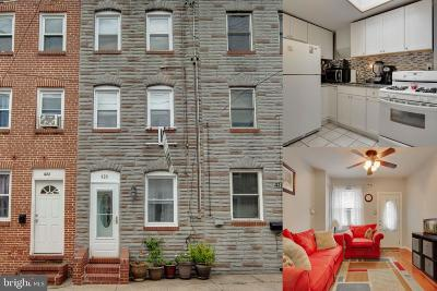Fells Point Townhouse For Sale: 420 S Durham Street