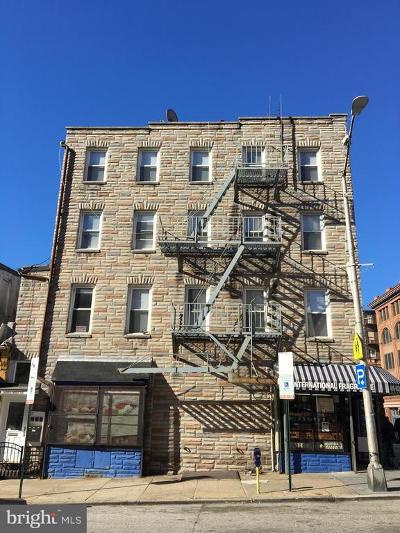 Baltimore Multi Family Home For Sale: 201 W Saratoga Street