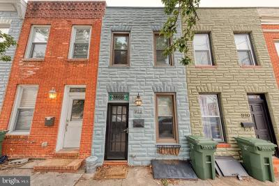Baltimore City Rental For Rent: 912 S Conkling Street