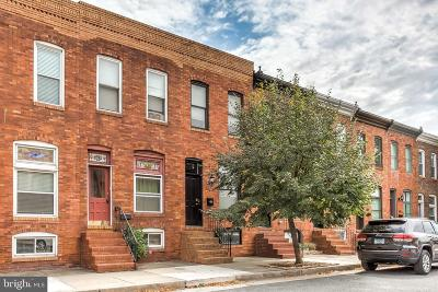 Baltimore Townhouse For Sale: 815 S Lakewood Avenue