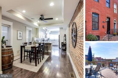 Baltimore Townhouse For Sale: 3423 O'donnell Street