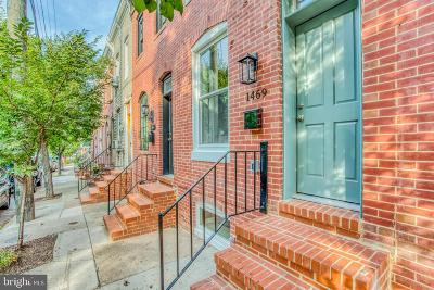 Baltimore Townhouse For Sale: 1469 Woodall Street