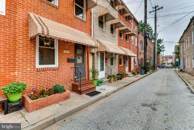 Baltimore Townhouse For Sale: 529 S Chapel Street