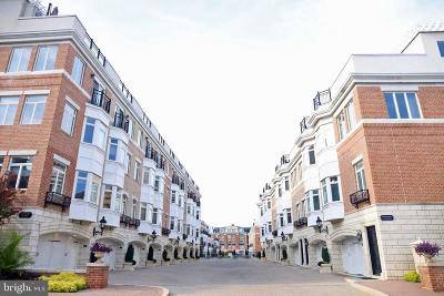 Baltimore Townhouse For Sale: 1027 Pier Pointe Landing #113