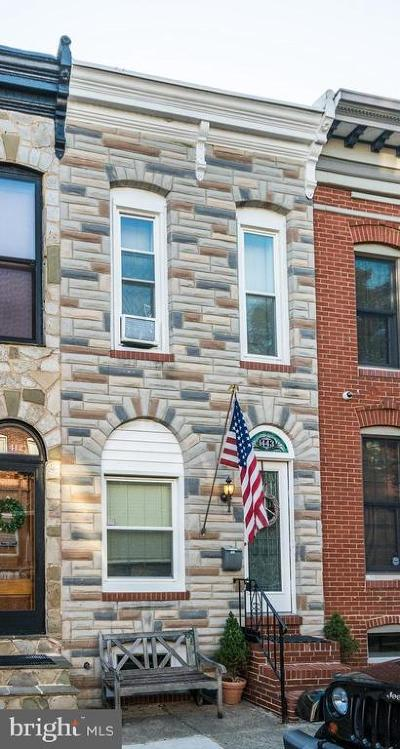 Federal Hill Townhouse For Sale: 1443 Henry Street