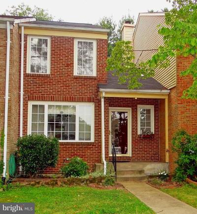 Baltimore County Townhouse For Sale: 20 Millbridge Court