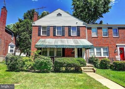 Baltimore County Townhouse For Sale: 1824 Glen Ridge Road