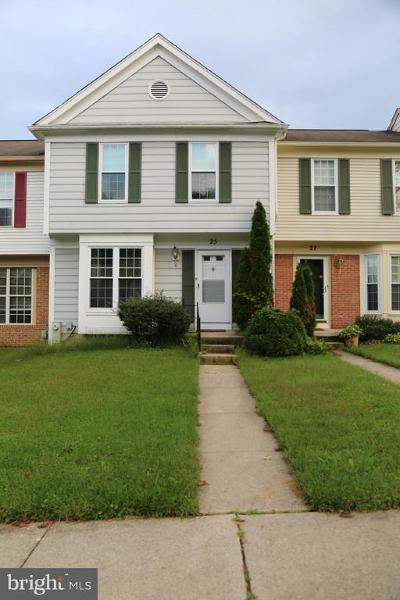 Baltimore County Rental For Rent: 25 Hiddencreek Court