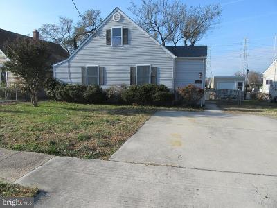 Baltimore County Single Family Home Under Contract: 8128 Bullneck Road