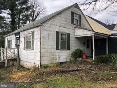 Baltimore Single Family Home For Auction: 5401 Pembroke Avenue