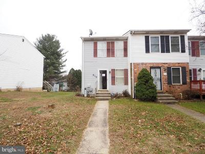 Reisterstown Townhouse For Sale: 619 Glynock Place