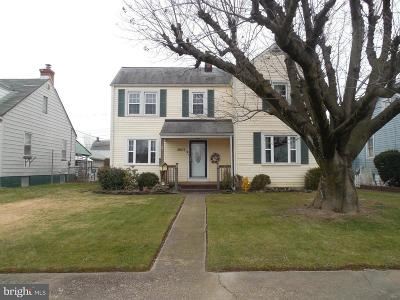 Baltimore Single Family Home For Sale: 3007 Salisbury Avenue