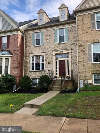 Baltimore County Townhouse For Sale: 603 Lavenham Court