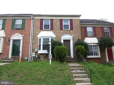 Owings Mills Townhouse For Sale: 8227 Township Drive